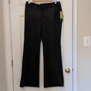 NWT Mossimo mid waist bootcut black pants